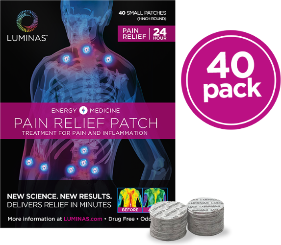 small luminas pain relief patches